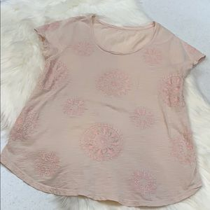 Lucky brand medallion T-shirt